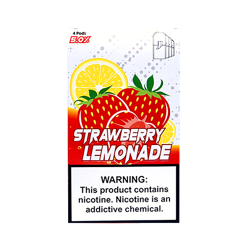 Strawberry Lemonade - Pack of 4 Juul Compatible Pods by SKOL