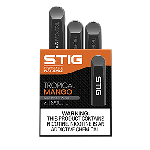 Tropical Mango Disposable Pod - Pack of 3 by VGOD STIG