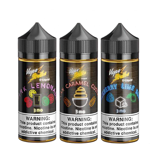 3PACK BUNDLE by Vape Strike 300ml (3x100ml)