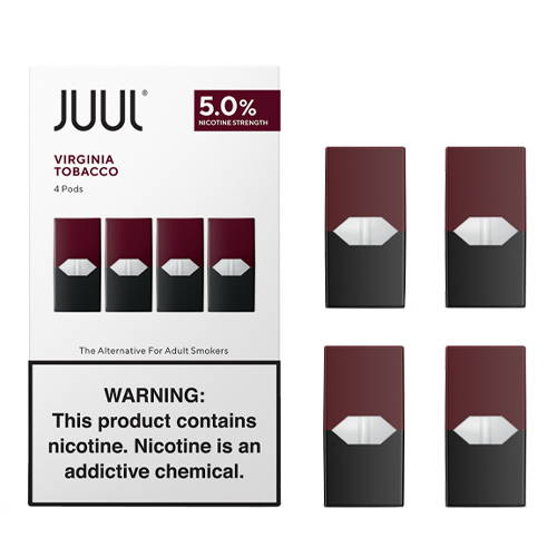 Virginia Tobacco - Pack of 4 Pods by Juul