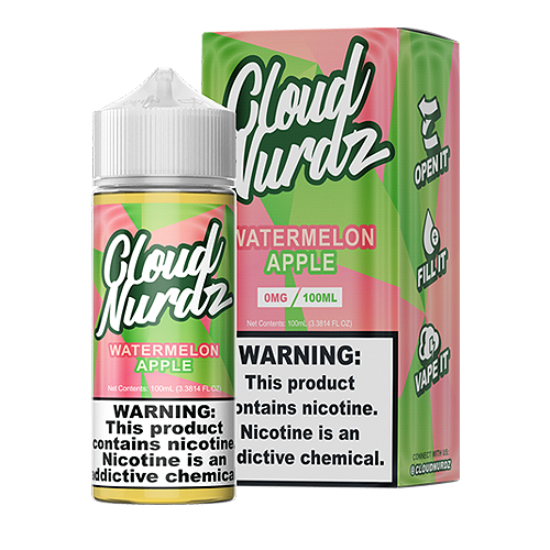 Watermelon Apple by Cloud Nurdz 100ml