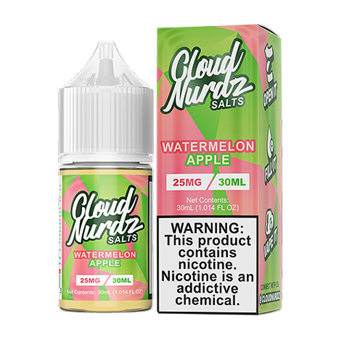 Watermelon Apple by Cloud Nurdz Salts 30ml