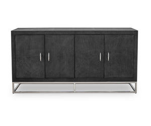 HAMPTON SIDEBOARD | BLACK SHAGREEN