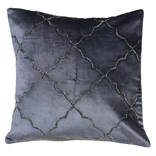 BONADEA EMBROIDERED CUSHION COVER