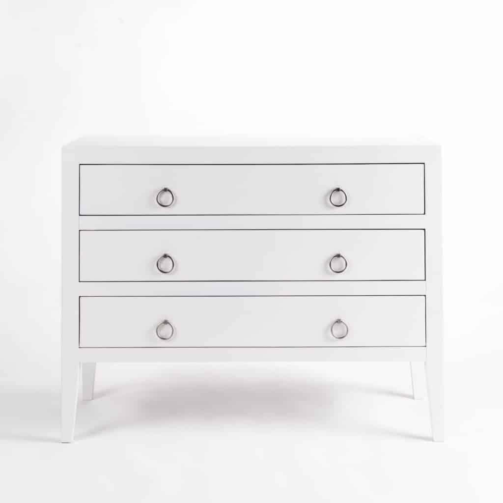 CHERITON CHEST OF DRAWERS  WHITE
