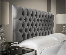 Load image into Gallery viewer, Chesterfield Upholstered Headboard