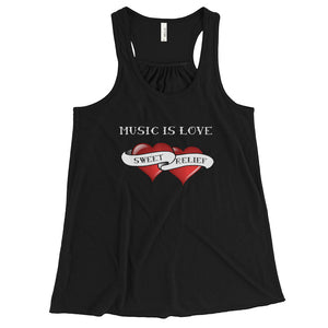 Music is Love Racerback Tank