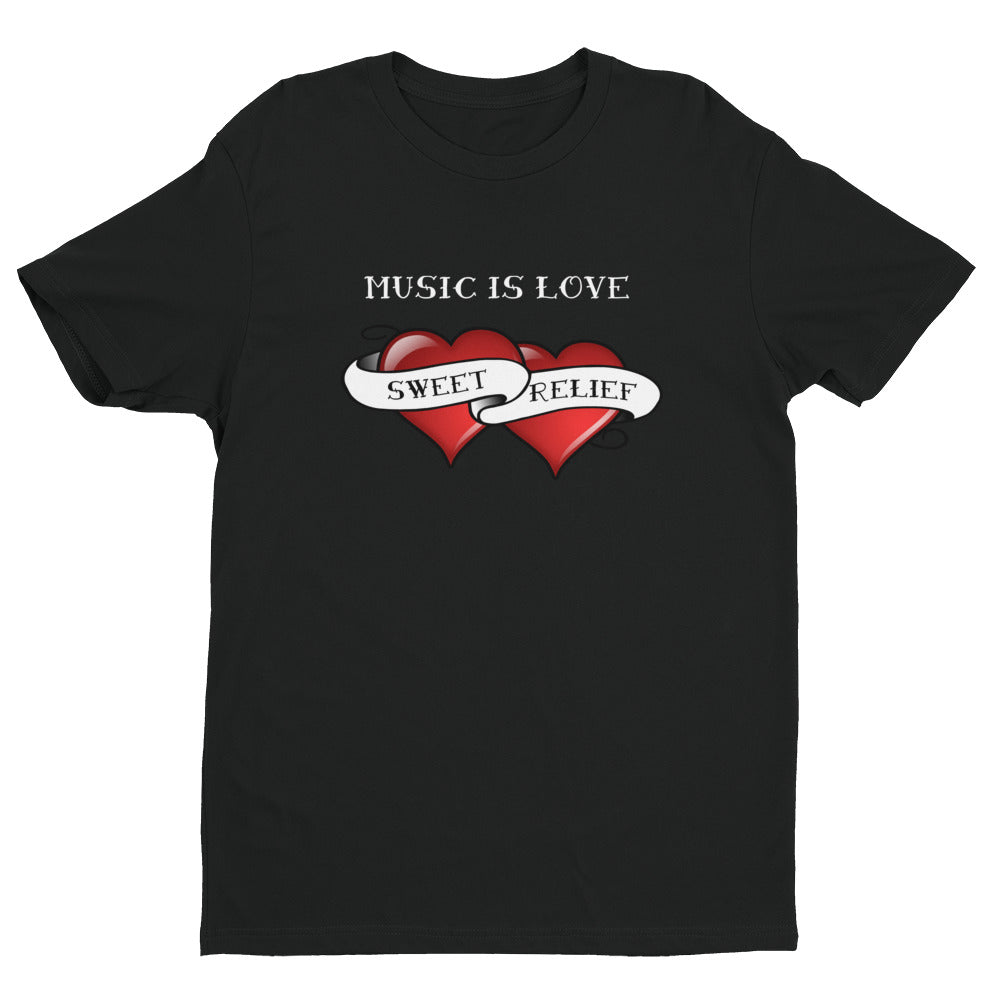 Music is Love Unisex T-shirt