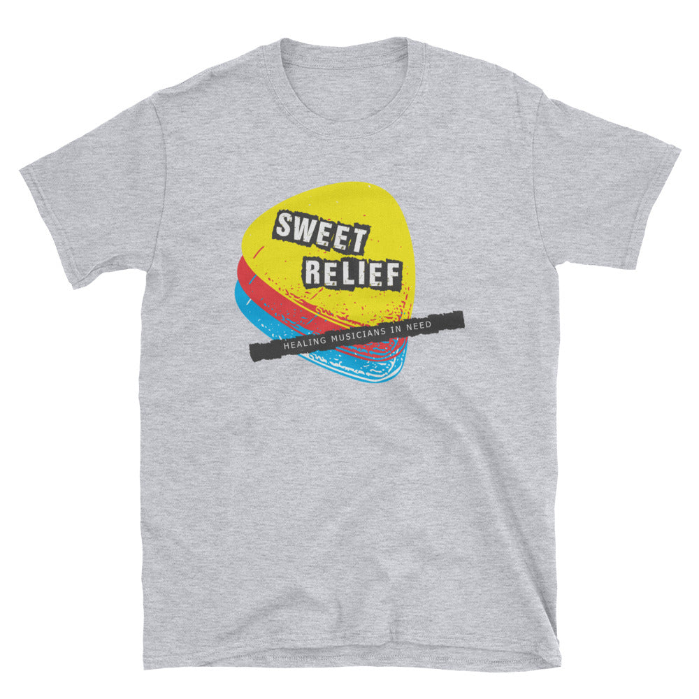 Sweet Relief Guitar Picks Unisex T-Shirt