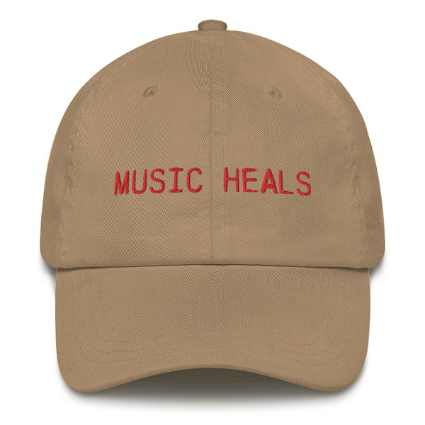 Music Heals Dad Hat