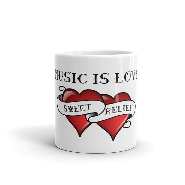 """Music is Love"" Mug"