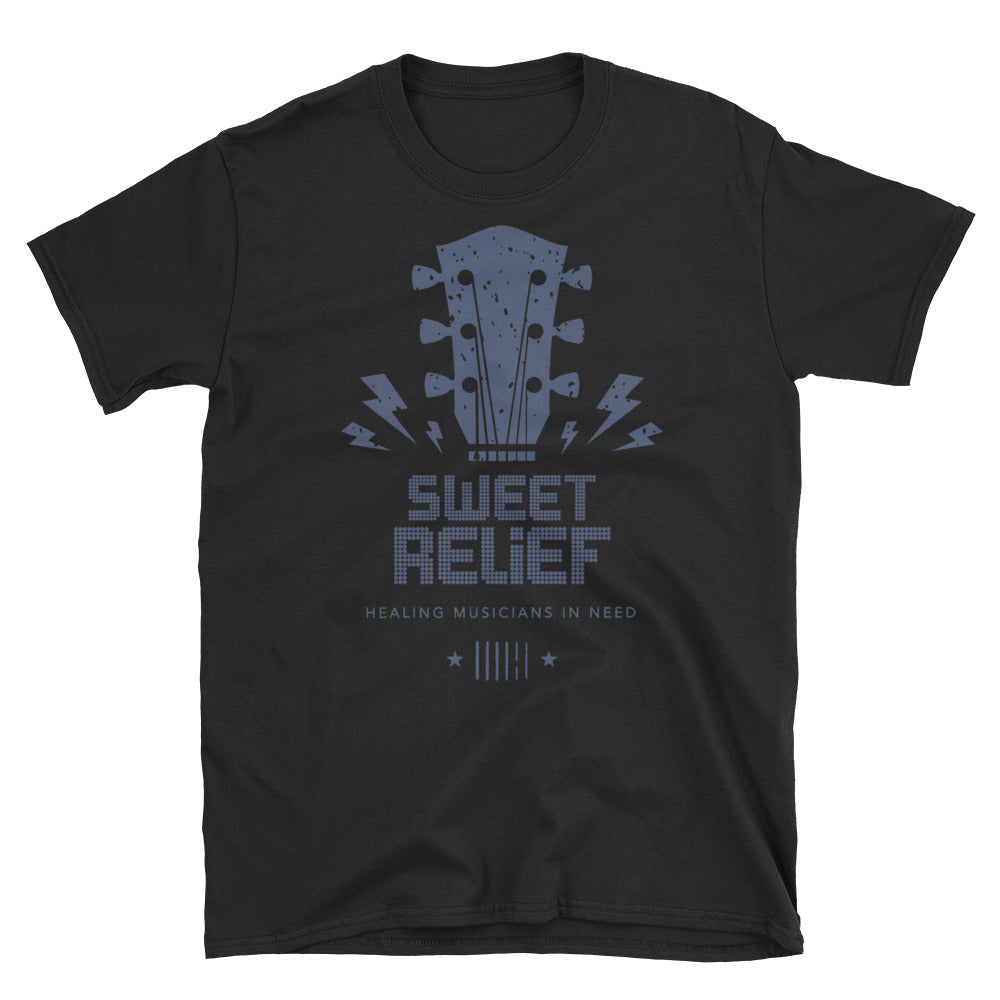 Sweet Relief Guitar Headstock Unisex T-Shirt
