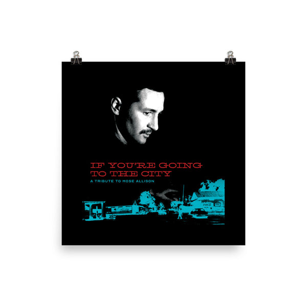 Mose Allison Photo Paper Poster