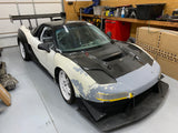 NSX widebody kit with Canards and Diffusor