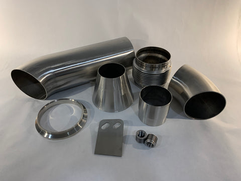 2020+ Toyota Supra B58 DIY Downpipe Kit