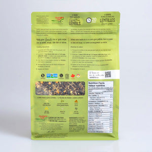 Club Pack 6-Grain Sprouted French Lentils 1.5 kg