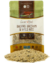 Load image into Gallery viewer, Basmati Brown & Wild Rice Blend (6 x 400g)