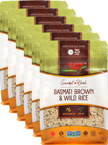 Basmati Brown & Wild Rice Blend (6 x 400g)