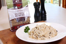 Load image into Gallery viewer, Wild Rice & Brown Rice Blend (6 x 400g)