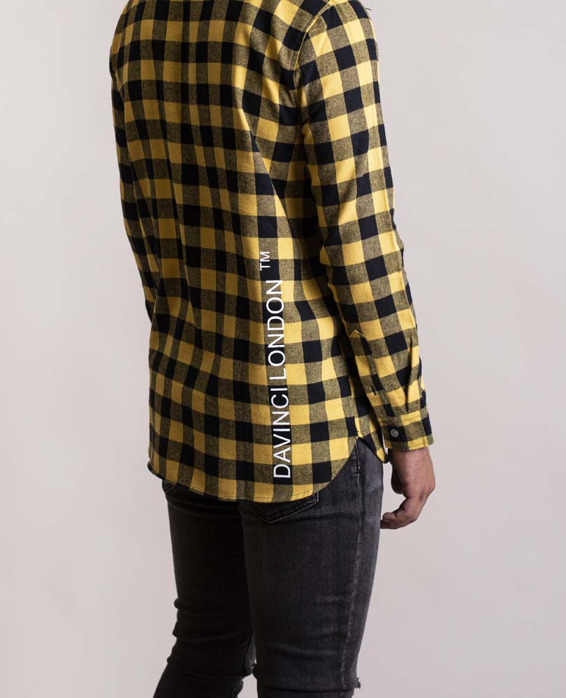 Davinci London Flannel Yellow/Black