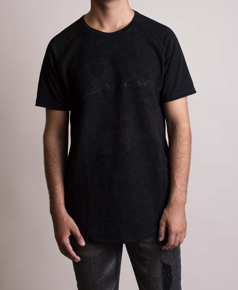 Davinci Signature Black Tee