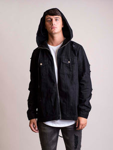 Signature Anorak Jacket Black