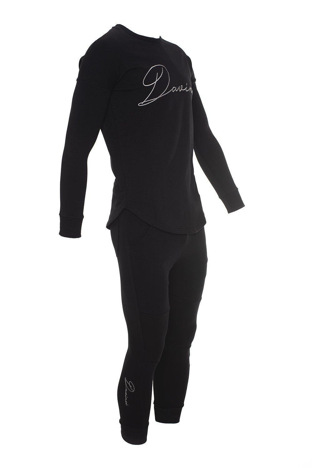 Signature Tracksuit Bottoms Black