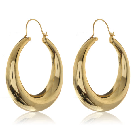 Casimir Tube Hoops- Gold