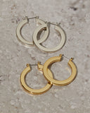 The Celine Hoops- Silver