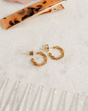 Baby Rope Hoops- Gold (Ships Late November)