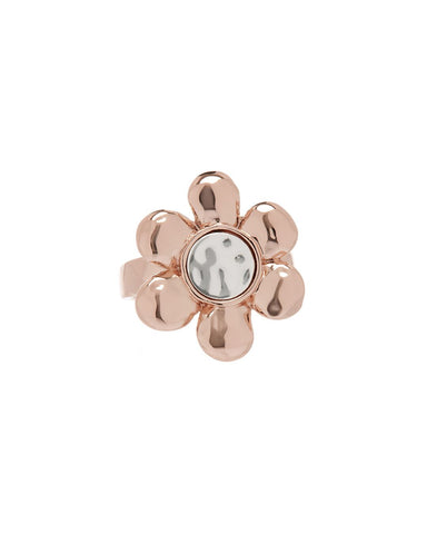 Flora Statement Ring- Rose Gold