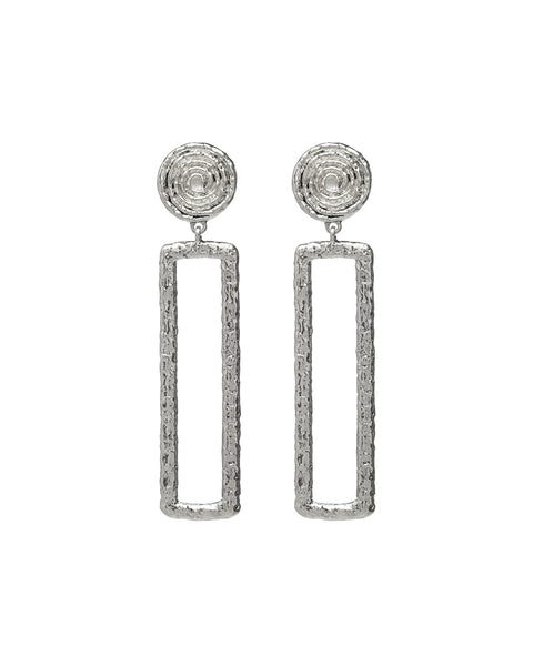 Adonis Earrings- Silver
