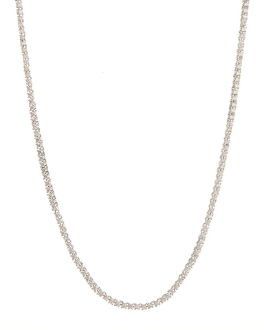 Mini Ballier Necklace- Silver