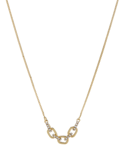 Blair Chain Charm Necklace- Gold
