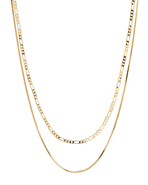 Cecilia Chain Necklace- Gold (Ships Late December)