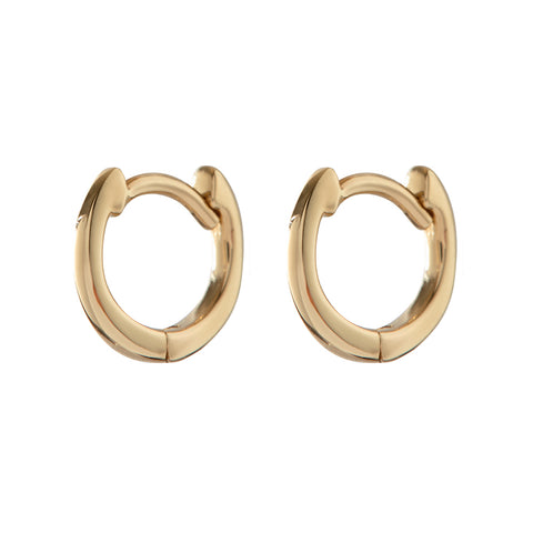 The Classique Huggies- Real 14K Yellow Gold