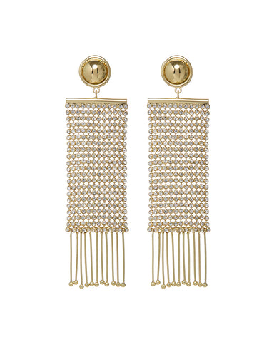Constantine Chainmaille Earrings- Gold