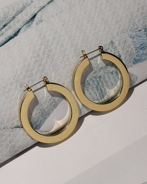 The Celine Hoops- Gold