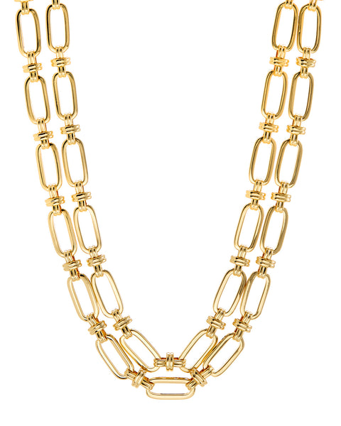 Isabella Statement Necklace- Gold