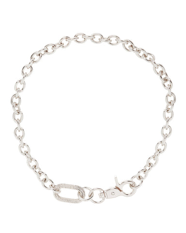 Isla Statement Necklace- Silver