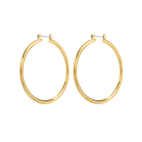 The Milan Hoops- Gold