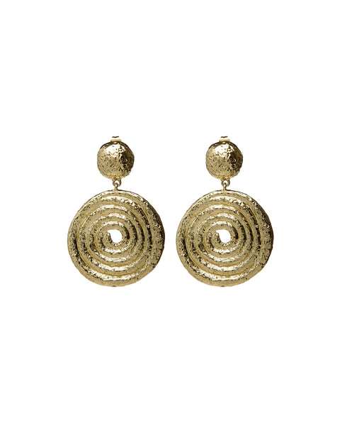 Kosmos Earrings- Gold