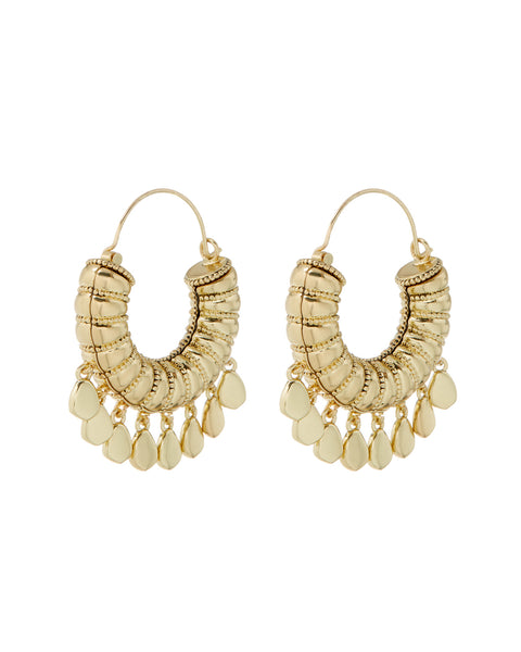 Layla Hoops- Gold