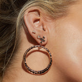 The Moroccan Studs Set- Rose Gold