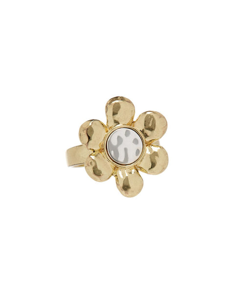 Flora Statement Ring- Gold