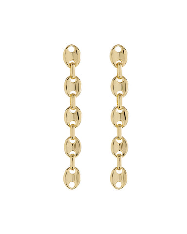Mariner Drop Earrings- Gold