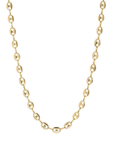 Mariner Toggle Necklace- Gold (Ships Late December)