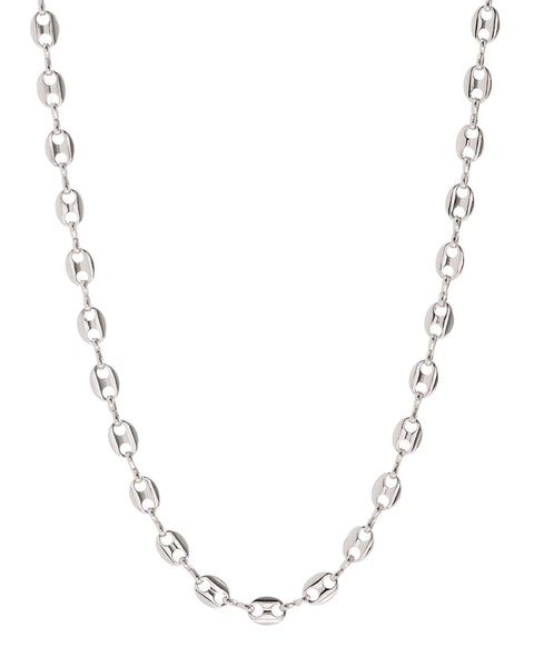 Mariner Toggle Necklace- Silver