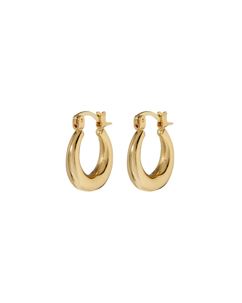 Mini Martina Hoops- Gold (Ships Mid May)