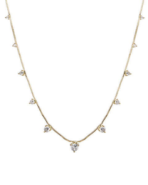 Orien Charm Necklace- Gold (Ships Early September)
